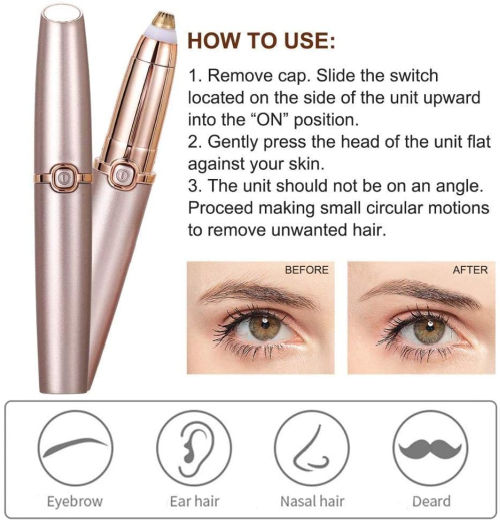 SUPERSTUD Eyebrow Trimmer For Woman