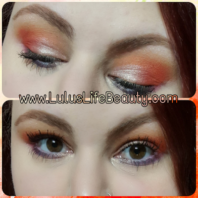 Fiery Half Cut Crease Tutorial