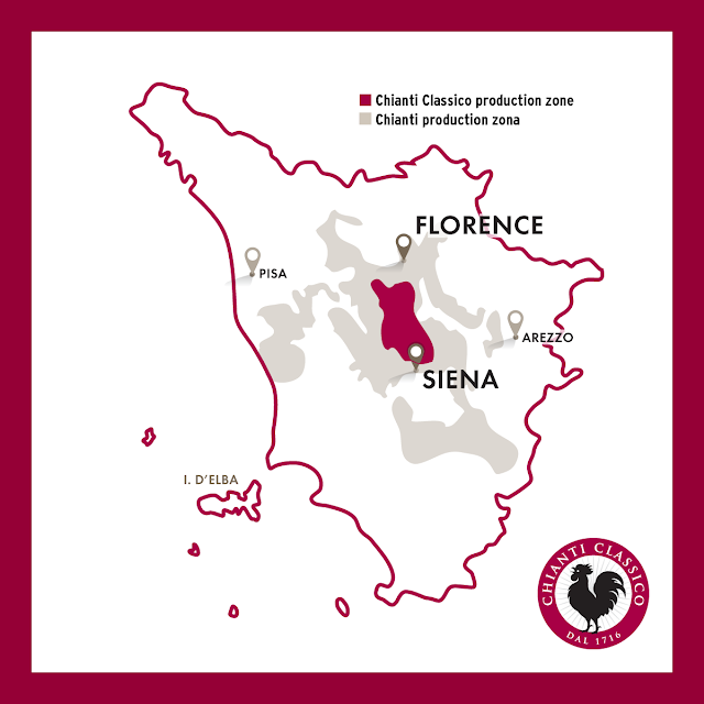 chianti classico wine region in Tuscany