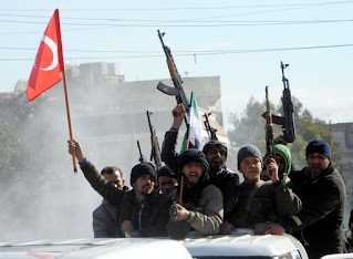 "Turkish regime and ""Jabhat-al-Nusra"" partners in terrorism and aggression on Syria"
