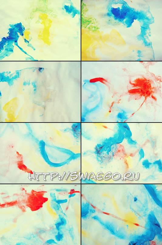 Акварельные текстуры для Фотошопа