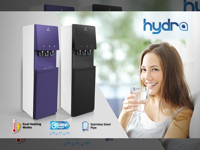 Hydra PWC 778,  Galon Bawah Dispenser Jenis Hybrid dari Polytron