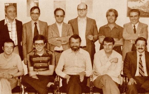 Equipo del Barcinona en 1978