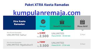 Paket xtra kuota ramadan