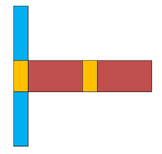 gambar jaring jaring balok 3