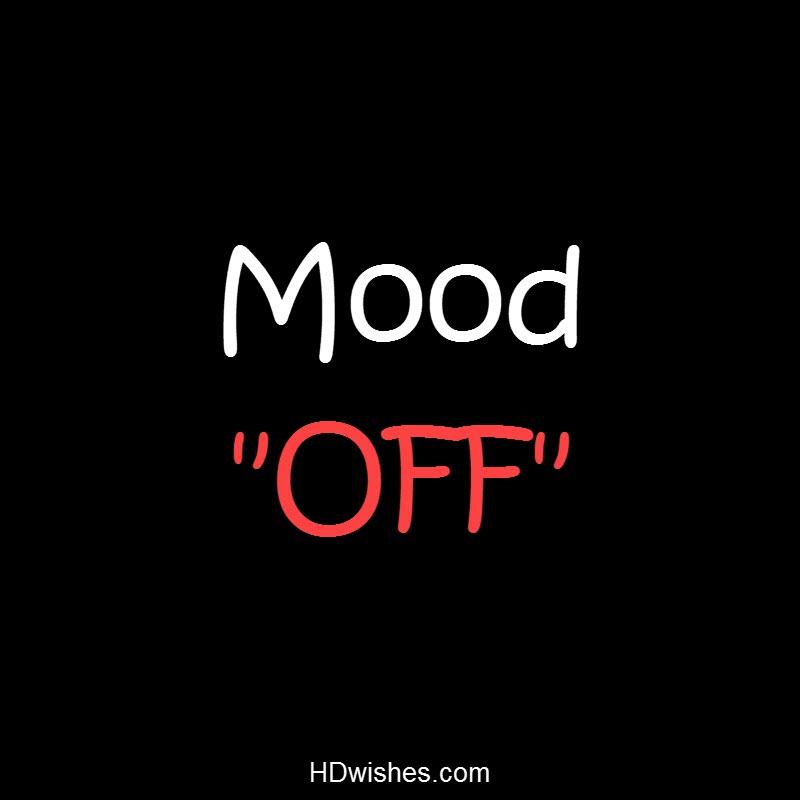 Mood OFF Black DP