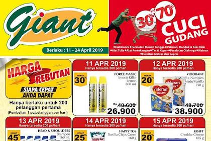 Katalog Giant Harga Rebutan Promo Sehari 11 - 24 April 2019