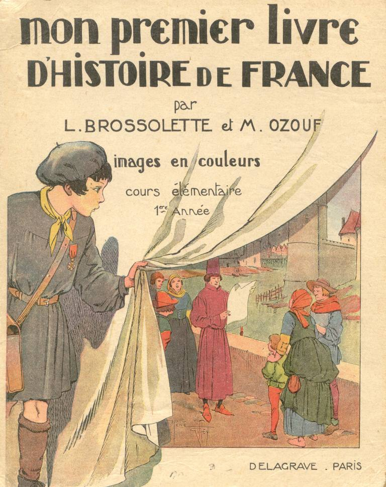 Manuels Anciens Brossolette Ozouf Mon Premier Livre D