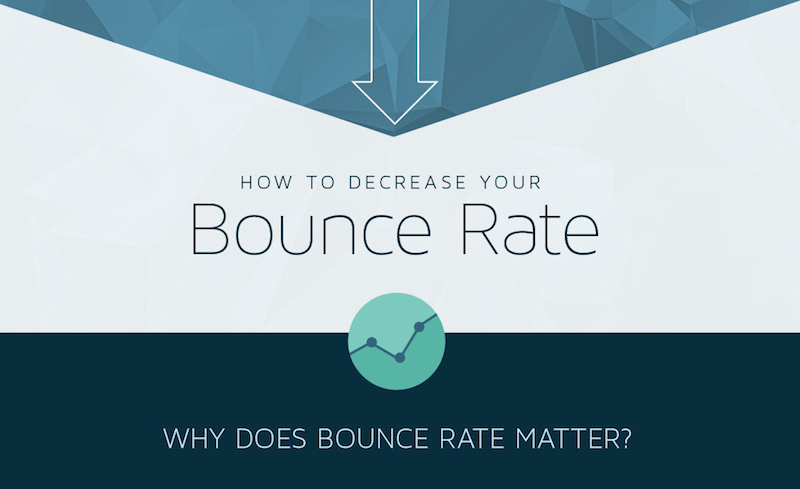 How to Decrease Your Blog's Bounce Rate #infographic