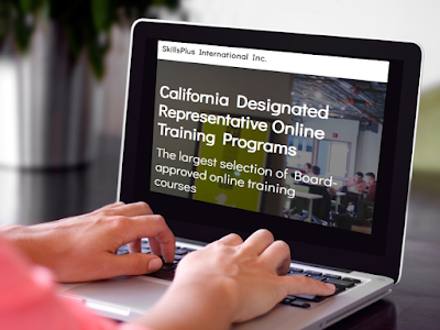 Board-approved California Designated Representative online training programs for wholesalers, 3PL, reverse distributors.