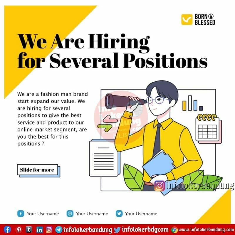 Lowongan Kerja Admin Market Place & Graphic Designer Bron & Blessed Bandung Juni 2021