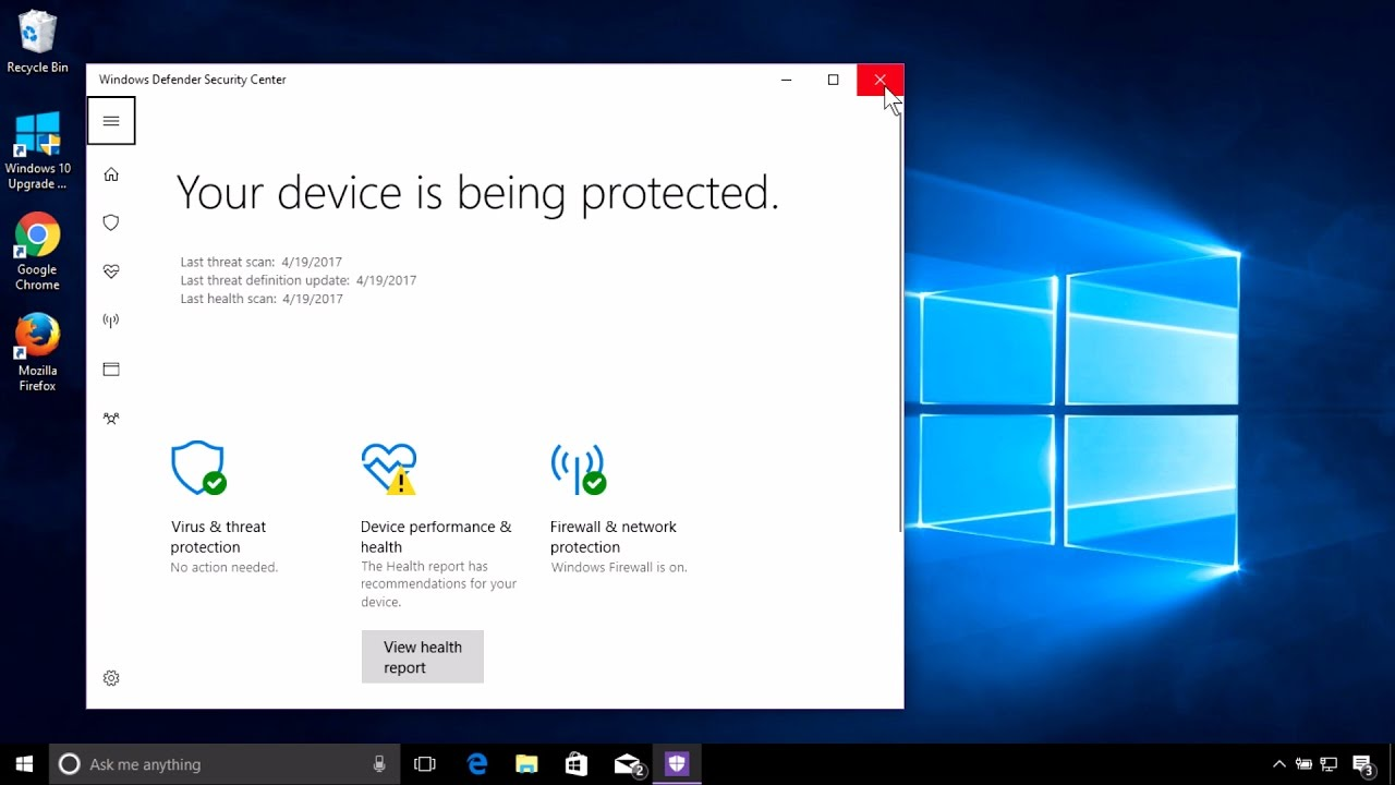 Cách tắt hoặc vô hiệu hóa hoàn toàn Windows Defender trên Win 10