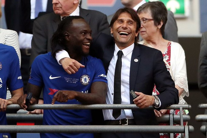 Chelsea Star Victor Moses 'Agrees' Personal Terms To Join Inter Milan!