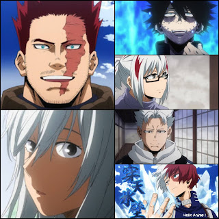 ヒロアカ | 轟家 構成員 | My Hero Academia Todoroki Family | Hello Anime !