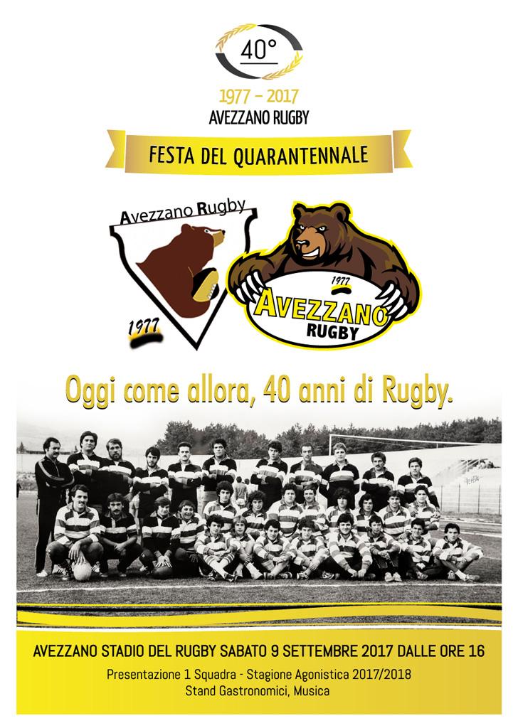 Rugby - Festa del Quarantennale