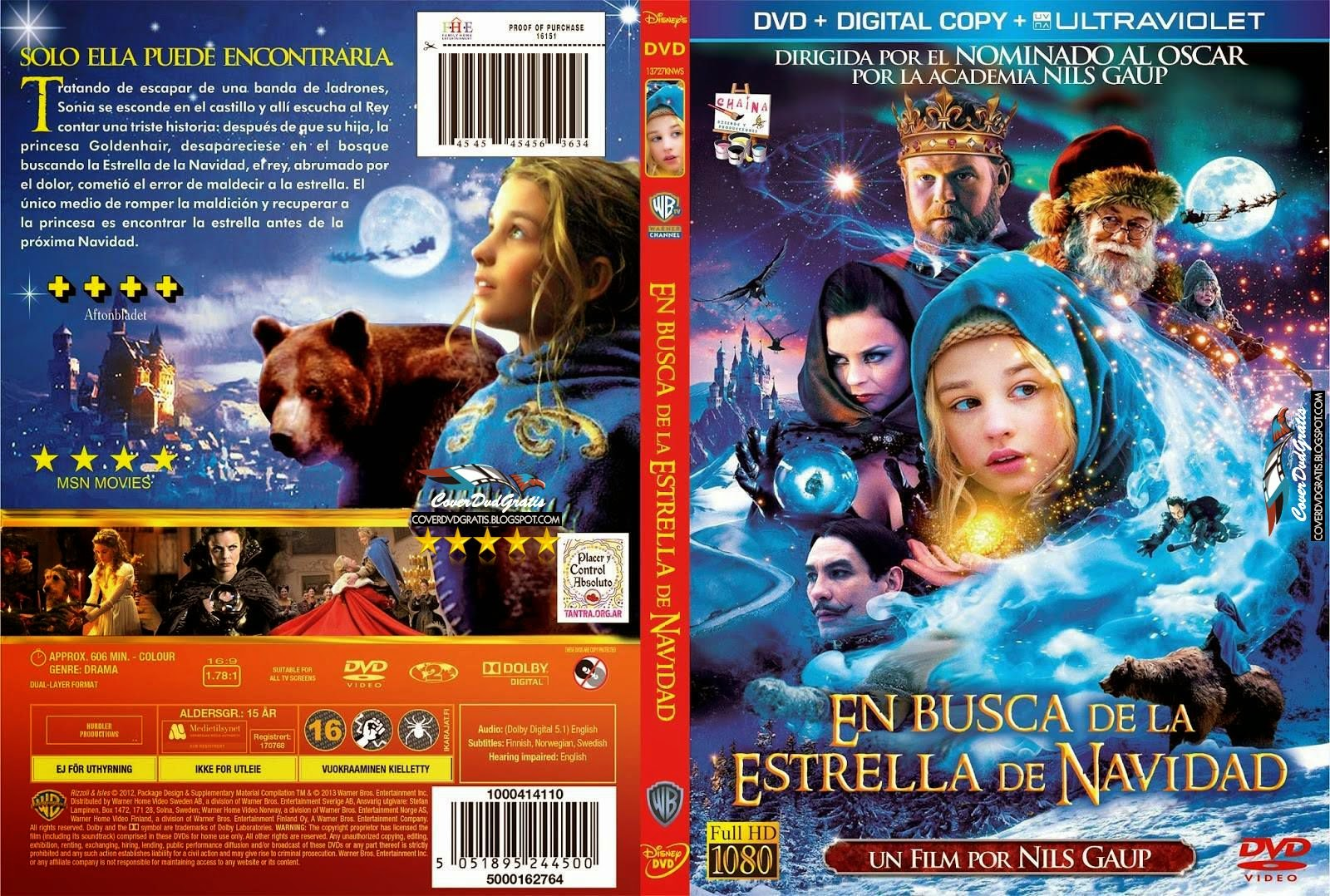 Journey to the Christmas Star DVD COVER - CoverDvdGratis