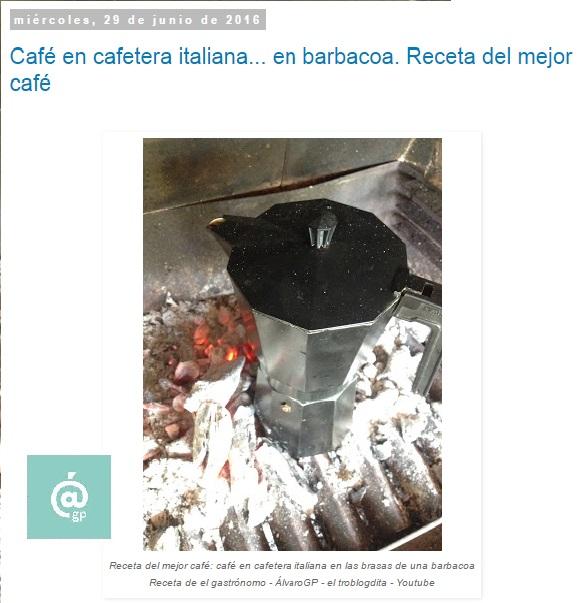 """Recetas TOP 10 en el blog de """"El Gastrónomo"""" - ÁlvaroGP - Álvaro García - Café en barbacoa - Ratatouille - Sandwich de huevo y salad cream - Percebes - Brunch - Sandwich de salmón (Ahumados Domínguez) - Pizza - Ropa Viena - Pringá - Patatas bravas"""