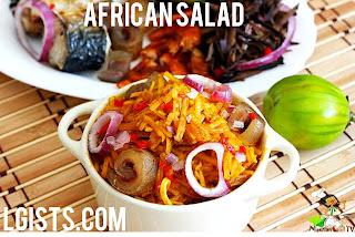 Africa salad recipe