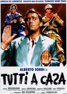 Tutti a casa, starring Alberto Sordi, was considered Comencini's masterpiece