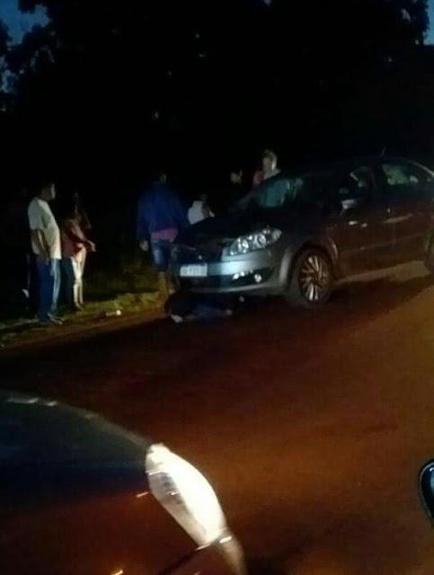 ELDORADO -  Peatón falleció al ser embestido por un automóvil