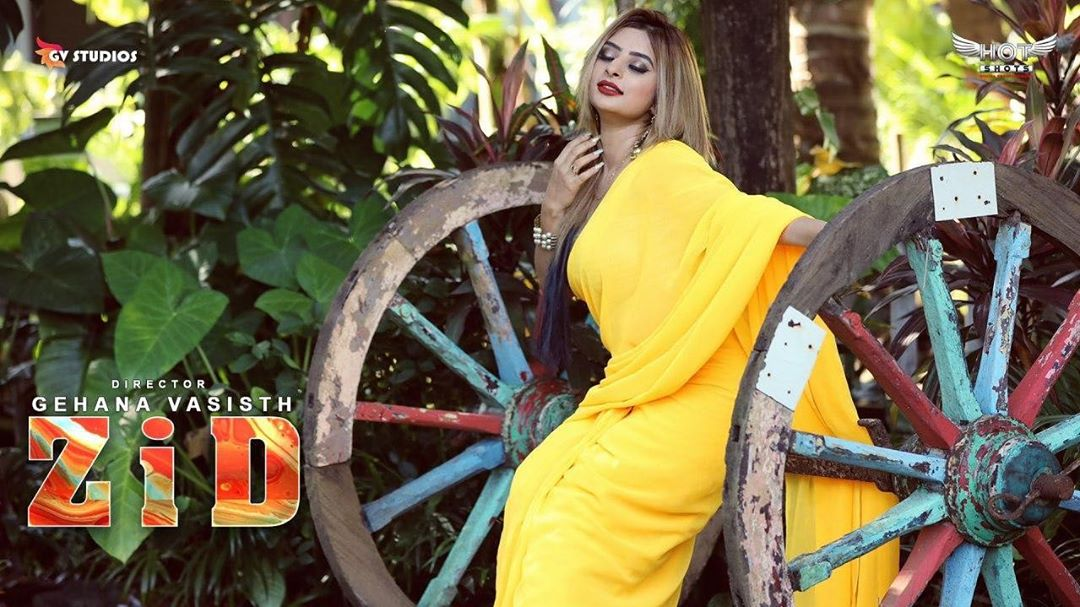 Ankita Dave's ZID 2020 Hindi Hotshots Web Series