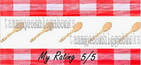 tammycookblogsbooks recipe review rating 5/5