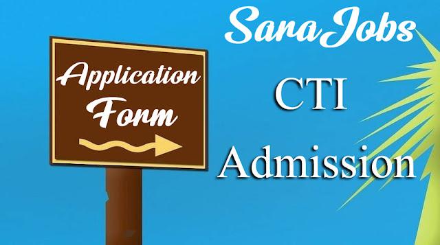 CTI Admission 2020