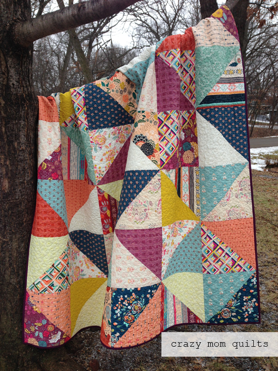 Quilt Patterns And Fabric : crazy mom quilts: fleet and flourish fabrics
