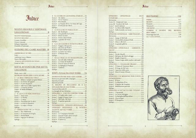 Ultima Forsan Legends – 1517: Fuga da Old York (indice)