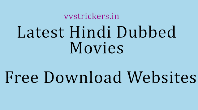 Hindi dubbed movies free download - Tamilrockers.com 2020