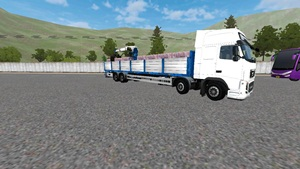 mod truck volvo fh16 8 kali 4 long chassis