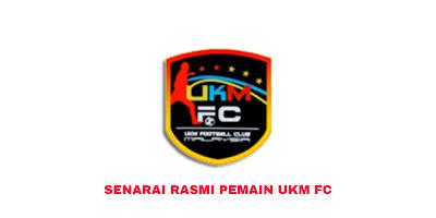 Senarai Rasmi Pemain UKM FC 2020 Liga Perdana