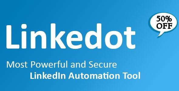 Download Linkedot v1.8.2.1 - Linkedin Automation Tool