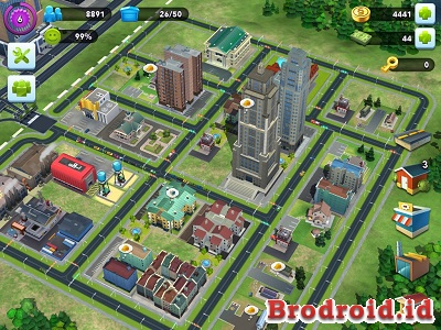 SimCity BuildIt v1.16.56.54648 MOD APK+DATA Terbaru 2017