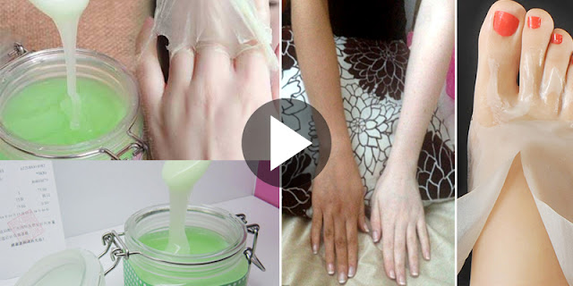 How To Get White Hands And Feet Like Princess By Using This Overnight Beauty Tip!