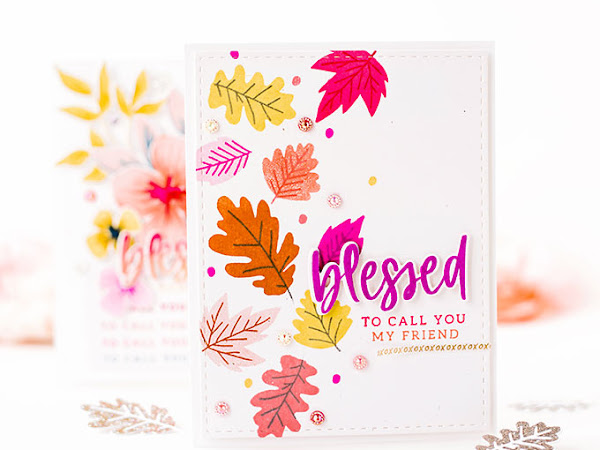 Quick and Easy Autumn Thank You Cards - The Stamp Market