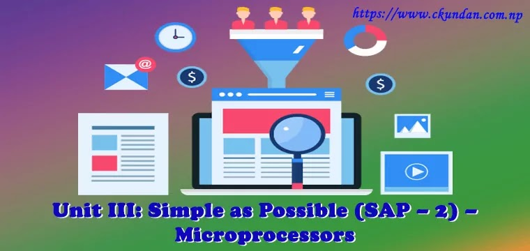 Simple as Possible (SAP – 2) – Microprocessors