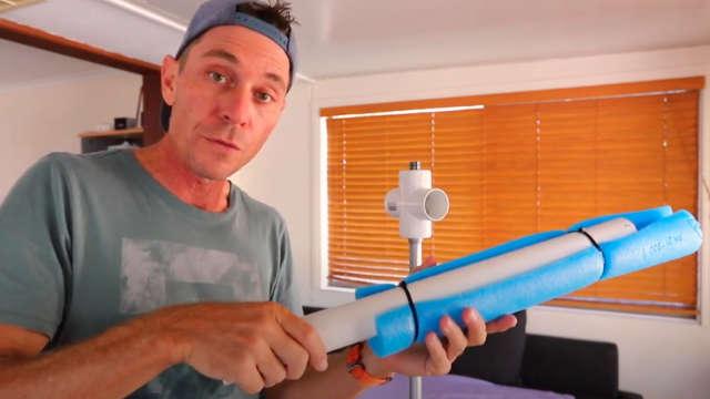 DIY spar bar arm
