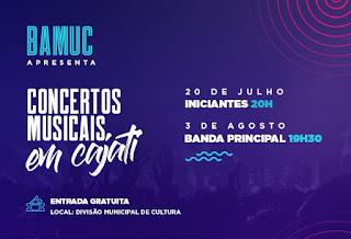 Banda Municipal apresenta concertos gratuitos em Cajati