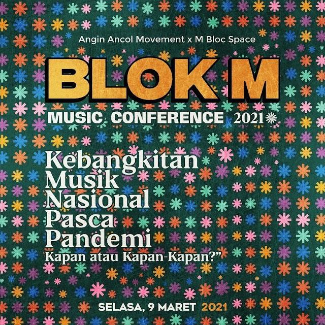 Hari Musik Nasional, Mbloc Space Gelar Konferensi Musik