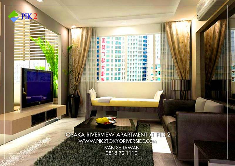 ILLUSTRASI FULL FURNISHED OSAKA RIVERVIEW