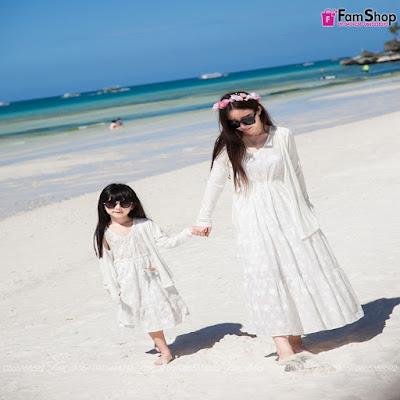 Shop bán váy mẹ và bé gái tại Hà Nội
