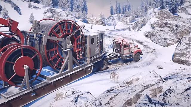 SnowRunner Trucking Game gameplay