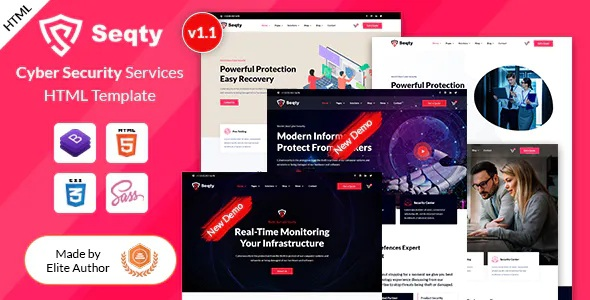 Best Cyber Security Services HTML Template