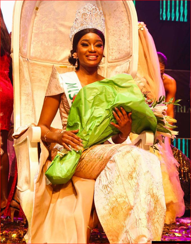 Image result for Etsanyi Tukura Becomes Miss Nigeria 2019 -Photos