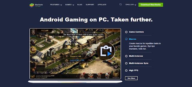 Blue Stacks 4 Emulator For PC
