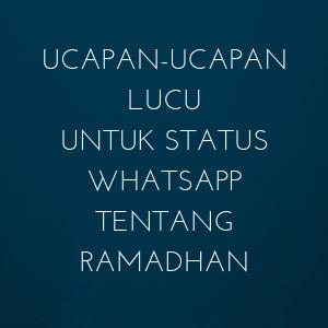 gambar lucu ramadhan 2020