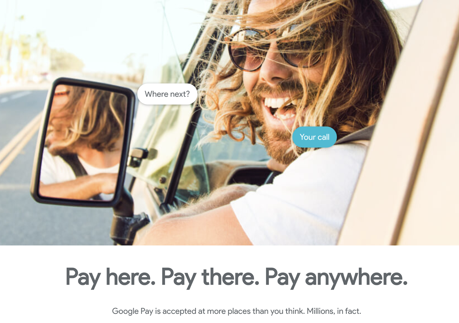 Google Pay now available on Web both desktop and iOS