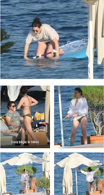 halime sultan in bikini