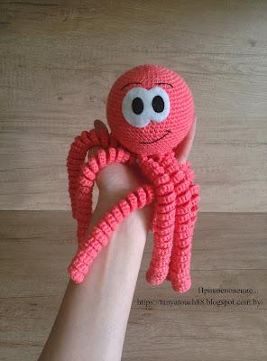 осьминог крючком